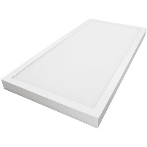 Panel Led de superficie marco blanco 48W 4080Lm 6000°K 1200x300x35mm. (GSC 0705296)