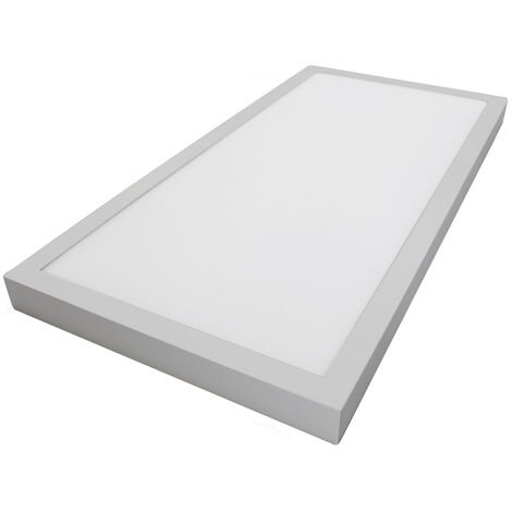 Panel Led de superficie marco níquel 40W 4080Lm 6000°K 1200x300mm. (GSC 0705264)