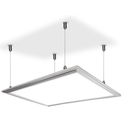 Panel LED Ecoline 60x30Cm 22W 2100Lm 30.000H Marco Blanco
