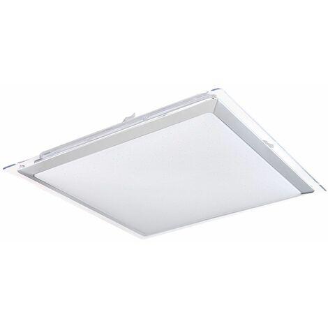 Panel LED Efecto estrella Luz de día Lámpara de techo Sala de estar Luminaria de control remoto DIMMABLE Globo 48380-48