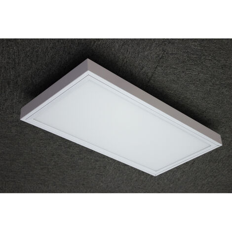 PANEL LED EXTERIOR EMPOTRABLE/SUPERFICIE 24W IP44 BLANCO