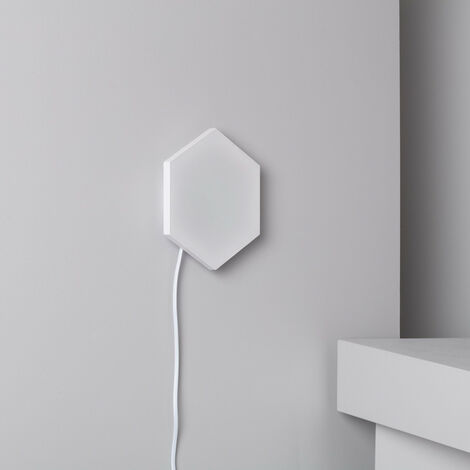 Panel LED Hexagonal 9x9cm 3.5W 200lm Base Principal Blanco Neutro 4000K - 4500K