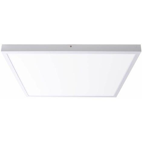 Panel LED plafón cuadrado ALU foco lámpara blanco sala de trabajo iluminación  Paulmann 706.47