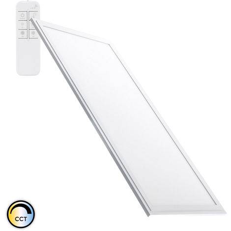 Panel LED Regulable CCT Seleccionable 60x30cm 32W 2700lm Seleccionable (Cálido-Neutro-Frío)