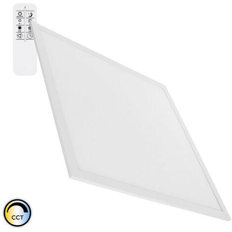 Panel LED Regulable CCT Seleccionable 60x60cm 40W 3600lm Seleccionable (Cálido-Neutro-Frío)
