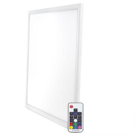 Panel LED RGB 30W con Control Remoto 60x60Cm | RGB (HO-P-RGB-30W)