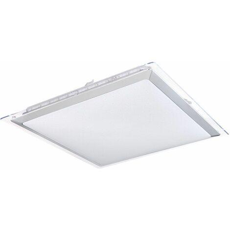 Panel LED RGB Efecto de estrella Luz diurna Lámpara de techo Sala de estar Luminaria de control remoto DIMMABLE Globo 48380RGB