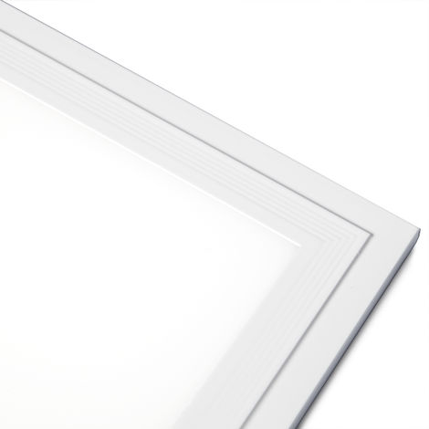 Panel LED Slim 120x30cm 40W 3800lm + Kit de Superficie | Blanco Frío (HO-KITPAN120X30-40W-CW)