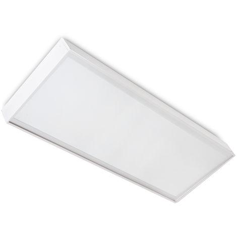 Panel LED Slim 120x60cm 72W 7900lm + Kit de Superficie | Blanco Frío (HO-KITPAN120X60-72W-CW)