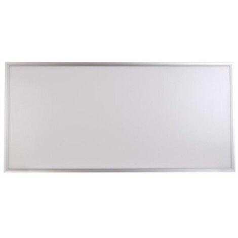 Panel LED Slim 120x60cm 88W 7900lm Marco Plata COLOR BLANCO NEUTRO 4500K
