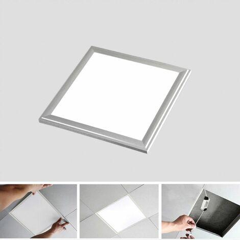 Panel LED Slim 30x30cm 12W Marco Plata 6000K