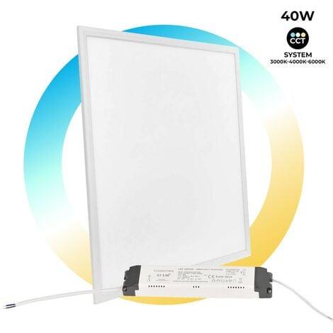 Panel LED slim 60x60 40W Regulable CCT Tunable White