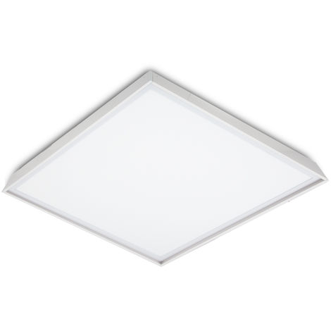 Panel LED Slim 60x60cm 36W 3623lm + Kit de Superficie | Blanco Frío (HO-KITPAN60X60-36W-CW)