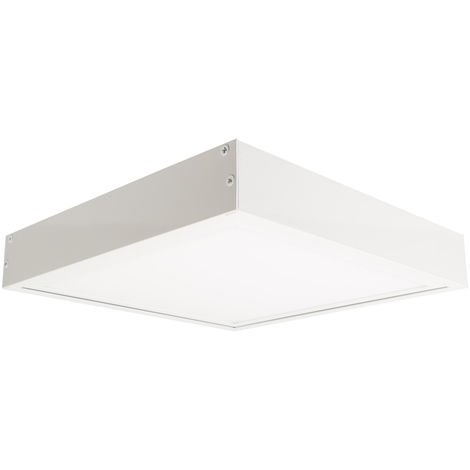 Panel LED Slim 60x60cm 40W 3600lm + Kit de Superficie