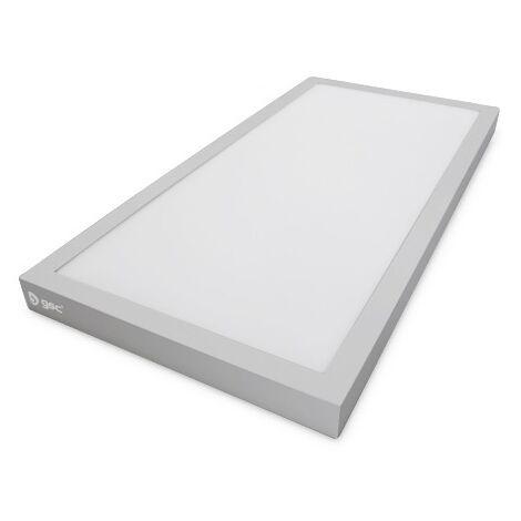 Panel led superficie Kenya 24W 6000K Niquel 600x300 GSC 000705256