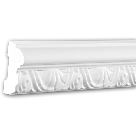 Panel Moulding 151351 Profhome Dado Rail Decorative Moulding Frieze Moulding Neo-Classicism style white 2 m