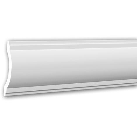 Panel Moulding 151360 Profhome Dado Rail Decorative Moulding Frieze Moulding Neo-Classicism style white 2 m