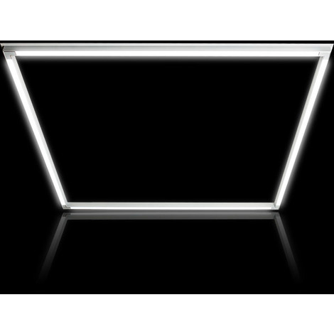 Panel perfilado 40W driver Lifud 6000K