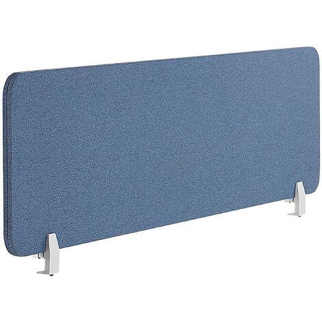 Panel separador para escritorio azul 130 x 40 cm WALLY