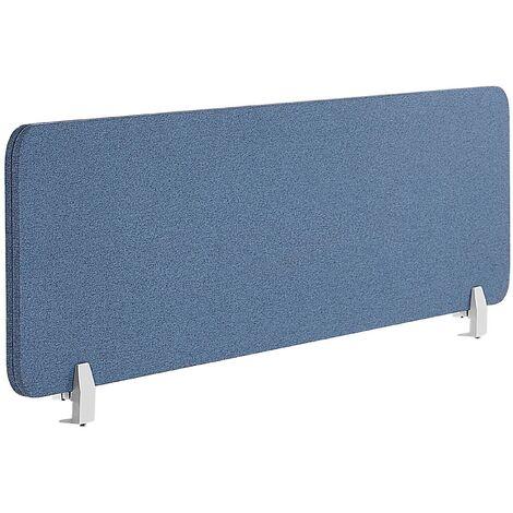 Panel separador para escritorio azul 160 x 40 cm WALLY