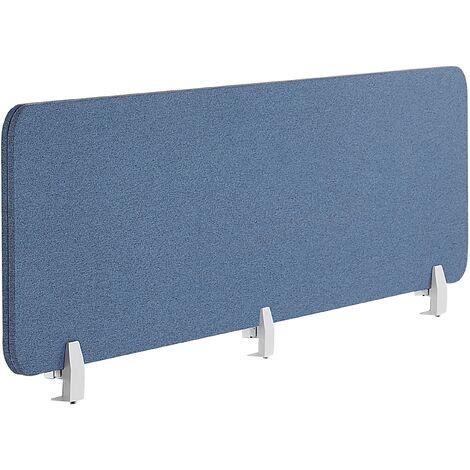 Panel separador para escritorio azul 180 x 40 cm WALLY