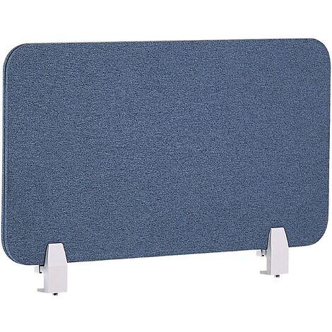 Panel separador para escritorio azul 72 x 40 cm WALLY