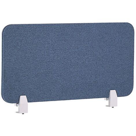 Panel separador para escritorio azul 80 x 40 cm WALLY