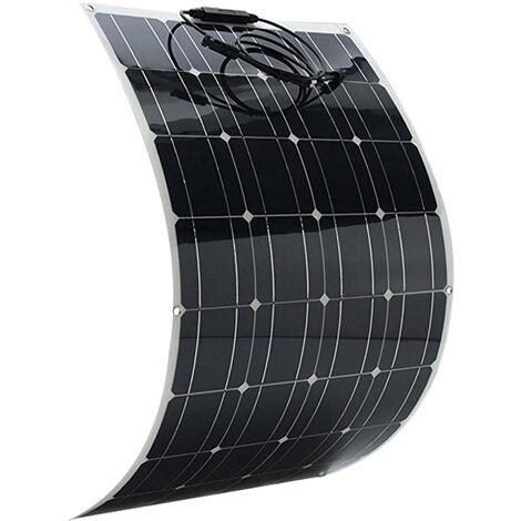Panel solar 100W, celula solar de silicio monocristalino de alta eficiencia
