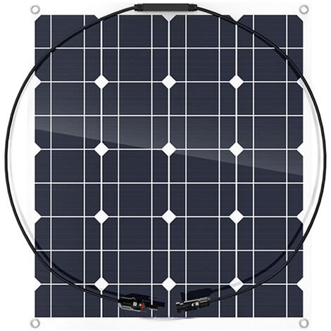 Panel solar, celula solar de silicio monocristalino de alta eficiencia