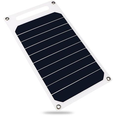 Panel solar de 6W 5V, con puerto USB Celula solar de silicio monocristalino