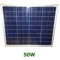 Panel solar policristalino 50W 12V