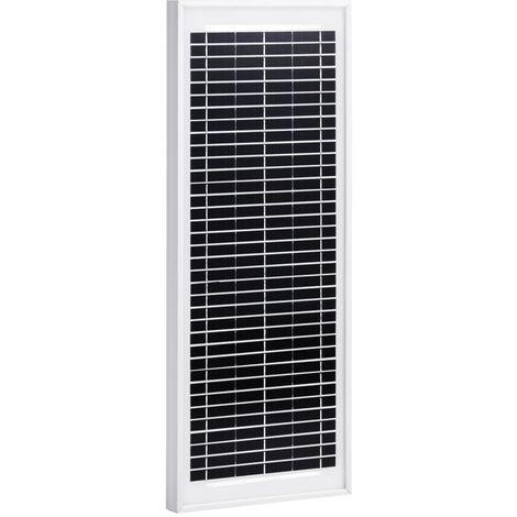 Panel solar policristalino aluminio y vidrio de seguridad 10 W