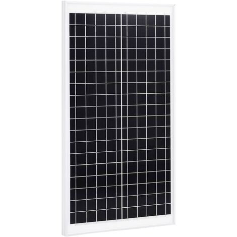 Panel solar policristalino aluminio y vidrio de seguridad 30 W
