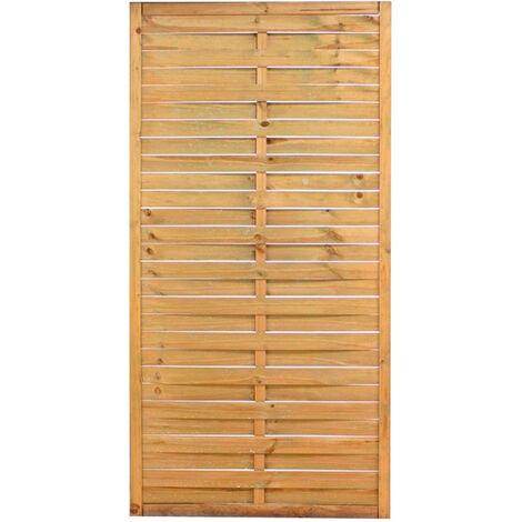 Panel trenzado de madera de pino Natura