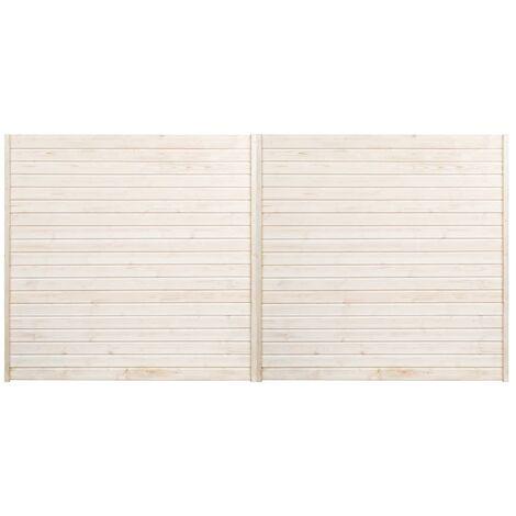 Paneles de valla 2 unidades 3,4x1,7 m