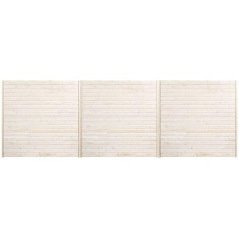 Paneles de valla 3 unidades 5,1x1,7 m