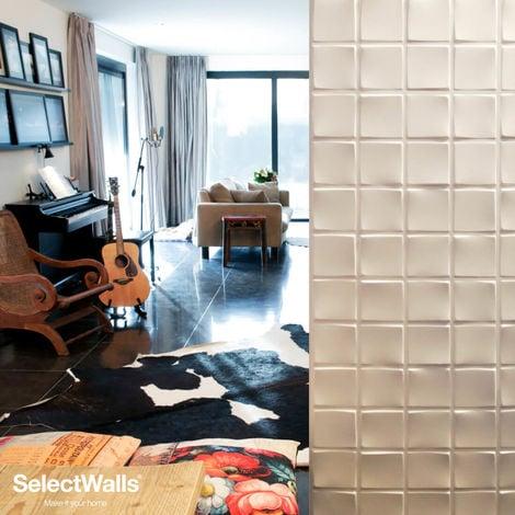 Paneles Decorativos 3D Ezra Panel de Pared 3d SelectWalls 2,5m²