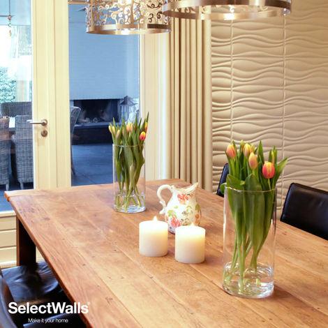 Paneles Decorativos 3D Jade Panel de Pared 3d SelectWalls 2,5m²