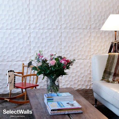 Paneles Decorativos 3D Jess Panel de Pared 3d SelectWalls 2,5m²