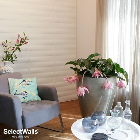 Paneles Decorativos 3D Zita Panel de Pared 3d SelectWalls 2,5m²