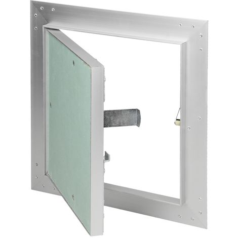 Paneles inspección de yeso revisión puerta solapa mantenimiento 20x20cm aluminio