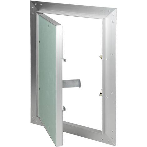 Paneles inspección de yeso revisión puerta solapa mantenimiento 20x30cm aluminio