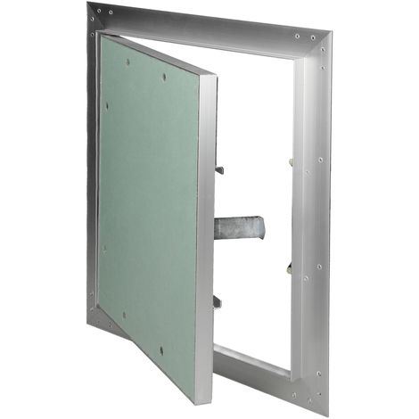 Paneles inspección de yeso revisión puerta solapa mantenimiento 25x30cm aluminio