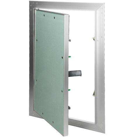 Paneles inspección de yeso revisión puerta solapa mantenimiento 25x40cm aluminio
