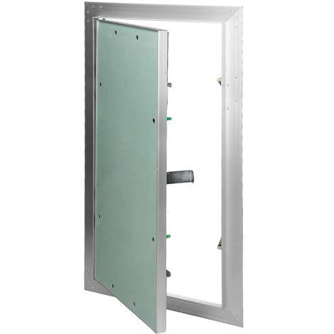 Paneles inspección de yeso revisión puerta solapa mantenimiento 30x60cm aluminio