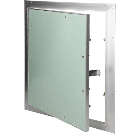 Paneles inspección de yeso revisión puerta solapa mantenimiento 40x60cm aluminio
