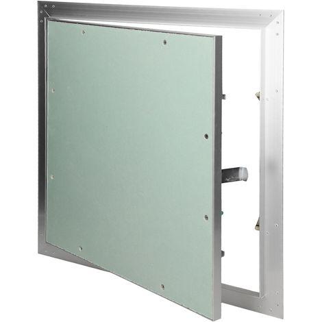 Paneles inspección de yeso revisión puerta solapa mantenimiento 60x60cm aluminio