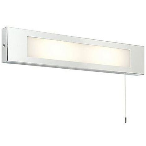 Panello 25W SW wall - polished stainless steel