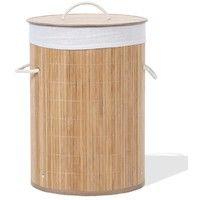 Panier à linge en bambou