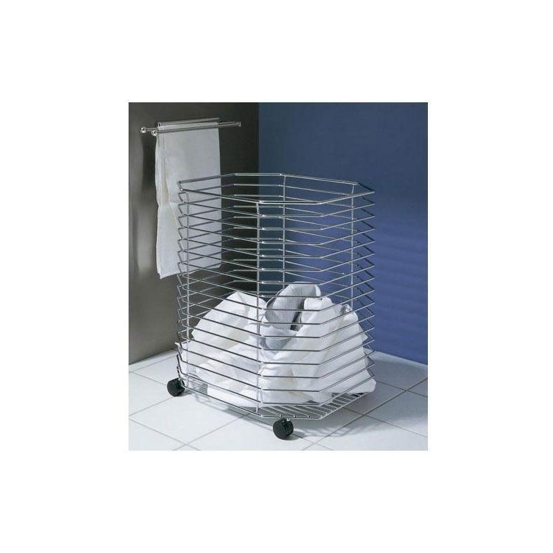panier linge sur roulettes kessebohmer 0040550005. Black Bedroom Furniture Sets. Home Design Ideas